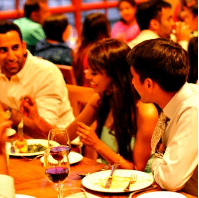 Dinner at Greens